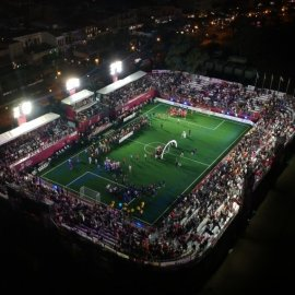 The Leisure Leagues Stadium From Above